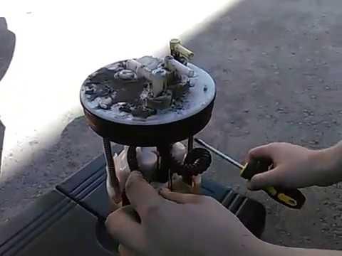 Замена топливного насоса,замена топливного фильтра на HONDA FIT 2008 GE6