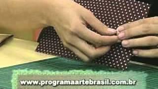 getlinkyoutube.com-ARTE BRASIL -- CLAUDIA WADA -- CARTEIRA EM CARTONAGEM (11/03/2011 - Parte 1 de 2)