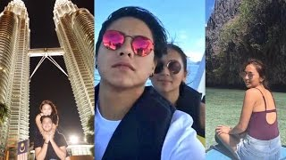 Kathryn Bernardo 21st Birthday with Daniel Padilla in Malaysia and Palawan