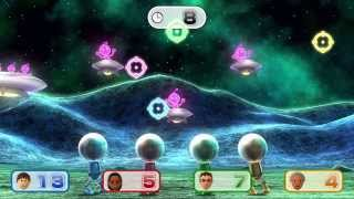 getlinkyoutube.com-Wii Party U  - Minigames Playthrough Part 1