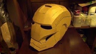 getlinkyoutube.com-IRON MAN HELMET BUILD ( Part 1)