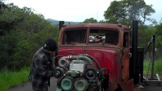 getlinkyoutube.com-RUN AWAY Detroit Diesel! 453-T