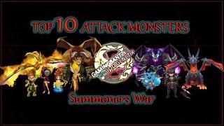 getlinkyoutube.com-Summoners War - Top 10 Attack Monsters