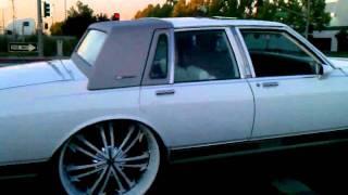 getlinkyoutube.com-Cocaine Box Chev on 28's Stuntin Yeah U see it!!!