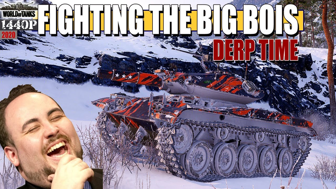 T49: Fighting the big bois - World of Tanks