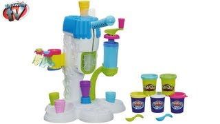 getlinkyoutube.com-PLAY DOH SWEET SHOPPE Perfect Twist Ice Cream Playset Toy Review Family Video