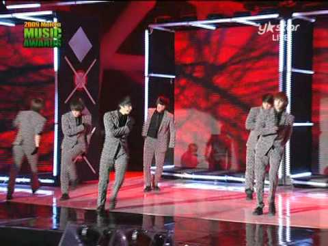 2PM Heartbeat @ Melon Awards 2009