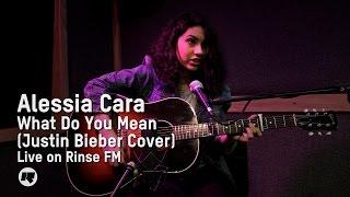 getlinkyoutube.com-Alessia Cara - What Do You Mean? (Justin Bieber Cover) — Live on Drive with Maya Jama