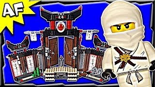 getlinkyoutube.com-Lego Ninjago SPINJITZU DOJO 2504 Stop Motion Set Review