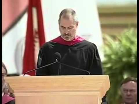 Steve Jobs Inspirational Speech -- You've got to find what you love