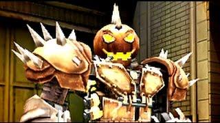 getlinkyoutube.com-Real Steel WRB The Holloween Horror - Hollowjack VS World Robot Boxing II (Живая Сталь)