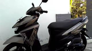 getlinkyoutube.com-Yamaha All New Soul GT 125 Blue Core - Grey