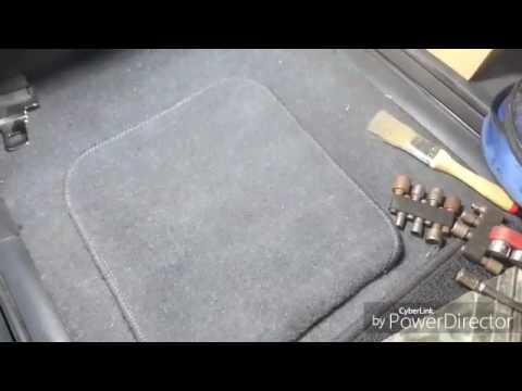 Замена топливного фильтра Honda Stepwagon RF 5