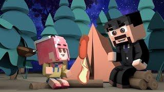 getlinkyoutube.com-잉여맨 가족상황극   '야생곰!? 가족끼리 캠핑장을 가요!'   캠핑모드   마인크래프트 Minecraft