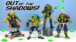 getlinkyoutube.com-Teenage Mutant Ninja Turtles: Out of the Shadows Action Figure Review