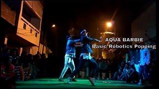 Aqua Barbie Girl  Basic Robotics & Popping  by Lucky bist width=