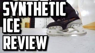 getlinkyoutube.com-Synthetic Ice Review - HockeyShot Extreme Glide