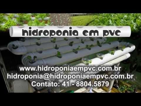 KIT COMPLETO BANCADA HIDROPÔNICA, HIDROPONIA EM PVC, PROJETO HORTA EM CASA COM PRODUTOS HIDROPÔNICOS