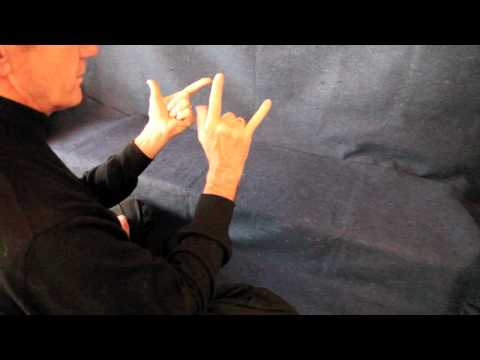 Demonstration of Gayatri Mantra Hand Mudras by Richard Miller Phd