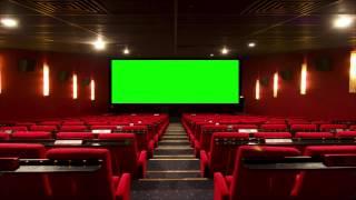 getlinkyoutube.com-Cinema (Movie Theater, Movie House) with green screen 2 - FreeHDGreenscreen Footage