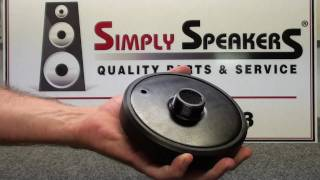 getlinkyoutube.com-Speaker Repair Yamaha Eminence Horn Driver Diaphragm Replacement by Simply Speakers