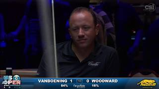 getlinkyoutube.com-2016 US Open 10-Ball: Shane Van Boening vs Skyler Woodward