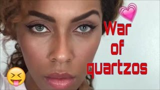 getlinkyoutube.com-Solotica: 🔪War of Hidrocor Quartzo & Natural Colors Quartzo| PUR Cosmetics  Highlight
