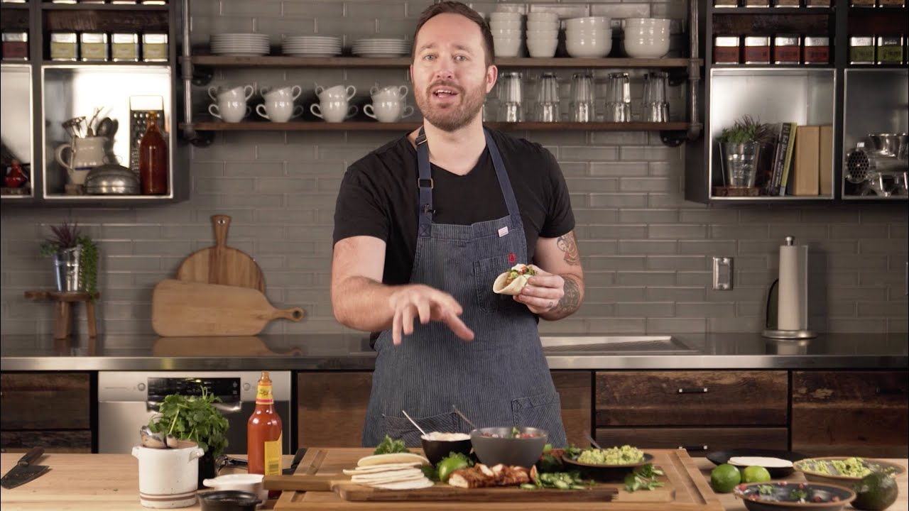 Loaded Grilled Chicken Tacos with Dennis Prescott thumbnail