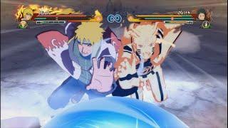 getlinkyoutube.com-Minato & Naruto Vs Obito & Madara