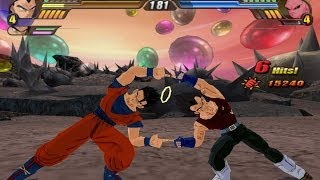 getlinkyoutube.com-Ultimate Gohan and Vegeta GT Fusion into Mystic Gogeta (Dragon Ball Z Budokai Tenkaichi 3 MOD)