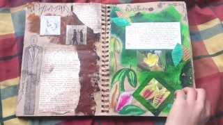 getlinkyoutube.com-GCSE Art Exam Sketchbook - A*