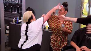 getlinkyoutube.com-LA Hair Naja and Lisa fight
