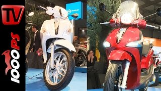 getlinkyoutube.com-Piaggio New Liberty ABS and Medley S 125 ABS 2016