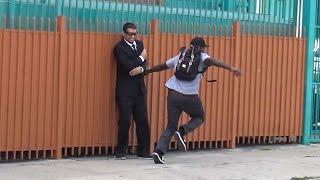 getlinkyoutube.com-Sniper Prank GONE WRONG! - Funny Hood Pranks in Public
