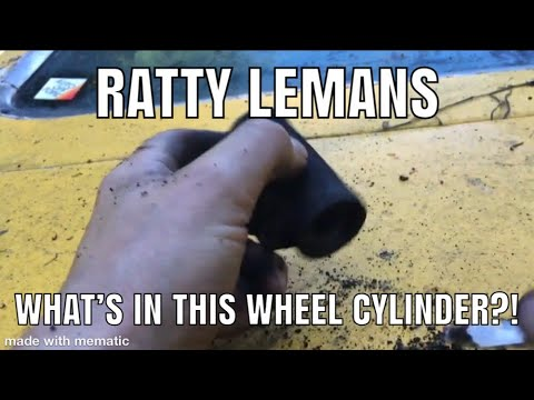 What's inside this wheel cylinder?
