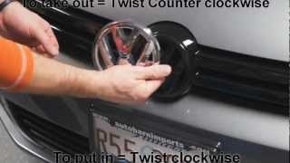 getlinkyoutube.com-2013 VW Golf TDI Ep.3 Replacing Front Emblem