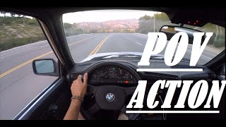 getlinkyoutube.com-GoPro : POV Action BMW E30 Runs