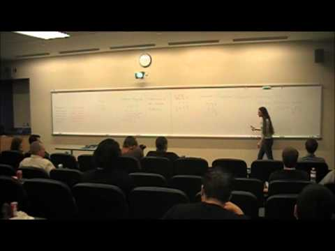 Math & Science Lecture Series/Melissa Flora, M.A.