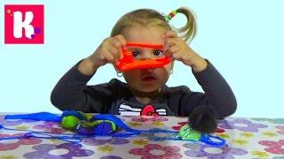 getlinkyoutube.com-Жвачка для рук ароматная в баночках прыгающая игрушка Silly Hand Gum toy bouncing gum