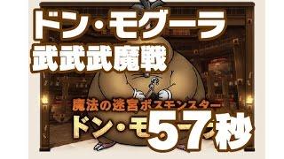 getlinkyoutube.com-【ドラクエ10】ドン・モグーラ武武武魔戦【57秒】