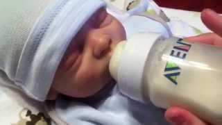 getlinkyoutube.com-Jayden's Night Routine! (Reborn Baby)