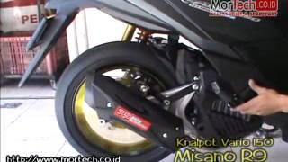 getlinkyoutube.com-Knalpot Vario125 Misano R9