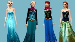 getlinkyoutube.com-Sims 4 ~ Create a sim ~ Frozen (With CC)