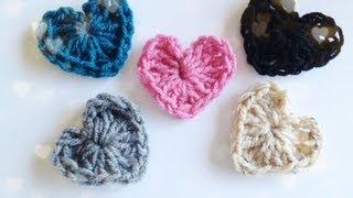 getlinkyoutube.com-How to: Crochet a Heart