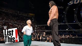 5 Biggest mismatches in WWE history: WWE List This!