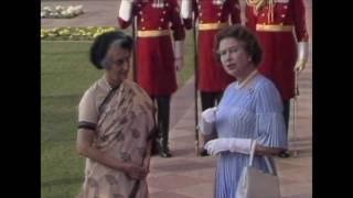 getlinkyoutube.com-The Queen visits New Delhi, 1983
