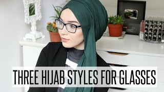 getlinkyoutube.com-HIJAB TUTORIAL FOR GLASSES WEARERS   NABIILABEE