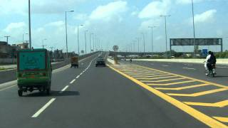 getlinkyoutube.com-to airport via lahore ( Pakistan ) ringroad.MOV
