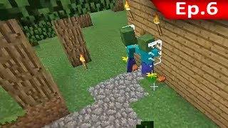 Tackle⁴⁸²⁶ Minecraft (1.7.9) #6 - Monster เข้ายึดครองบ้าน !!!