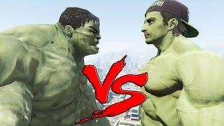 getlinkyoutube.com-HULK vs HULK - Epic Battle